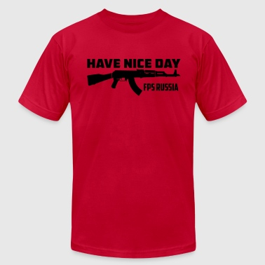 FPS Russia Have Nice Day MP Hoodies - Men's Fine Jersey T-Shirt