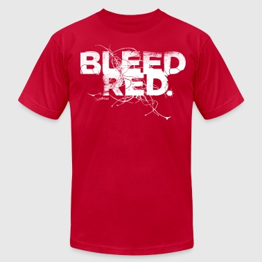 Bleed Red - Men's Fine Jersey T-Shirt