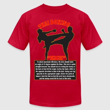 Thai Boxing - Men's Fine Jersey T-Shirt
