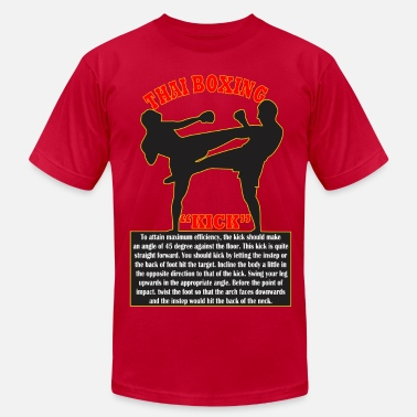Thai Boxing Thai Boxing - Men's  Jersey T-Shirt