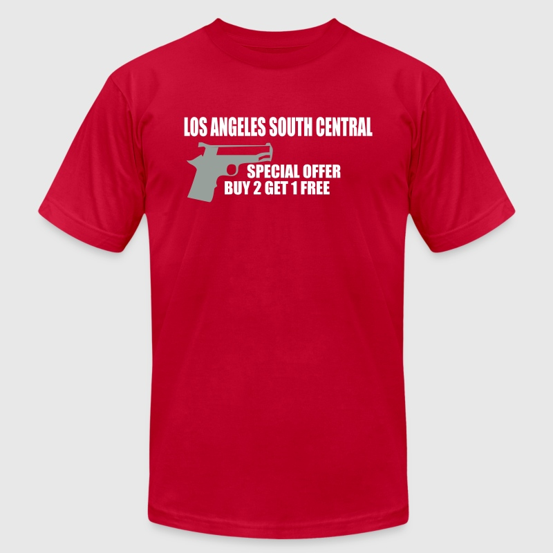 LOS ANGELES south central by wam - Men's Fine Jersey T-Shirt