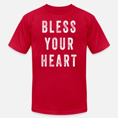 Front Porch Bless Your Heart - Men's Fine Jersey T-Shirt