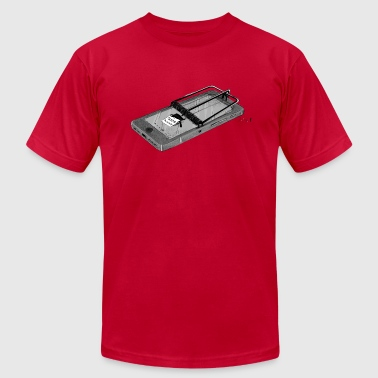 Smartphone Addiction - Men's Fine Jersey T-Shirt