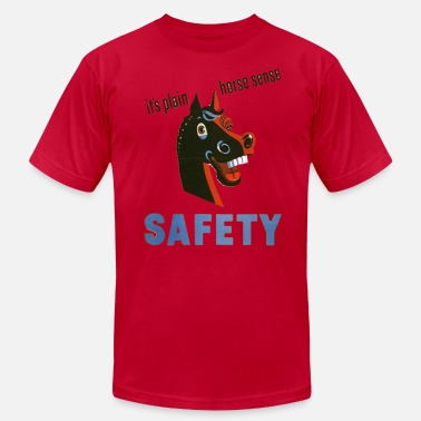 Safety Supervisor Funny horse sense funny safety shirt - Men's Fine Jersey T-Shirt