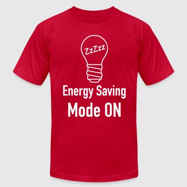 Energy Saving Mode Energy Saving Mode On - Men's Fine Jersey T-Shirt