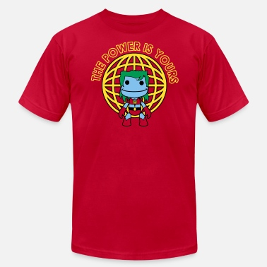 Captain Planet Little Captain Big Planet - Men's  Jersey T-Shirt