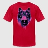 Wolf Head - Men's Fine Jersey T-Shirt