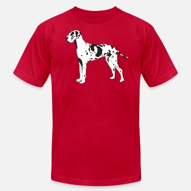Harlequin Great Dane Great Dane - Men's  Jersey T-Shirt