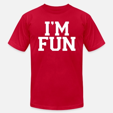 I'm Fun B - Men's Fine Jersey T-Shirt