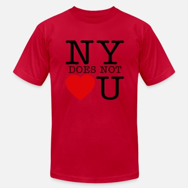 Daddy Yankee NY Does Not Love U - Men's Jersey T-Shirt
