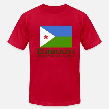 Djibouti Djibouti - It's Fun to Say - Men's Fine Jersey T-Shirt