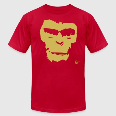 Planet of the Apes Painting - Men's Fine Jersey T-Shirt