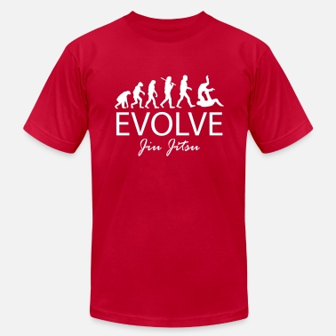 Evolve Jiu Jitsu - Men's  Jersey T-Shirt