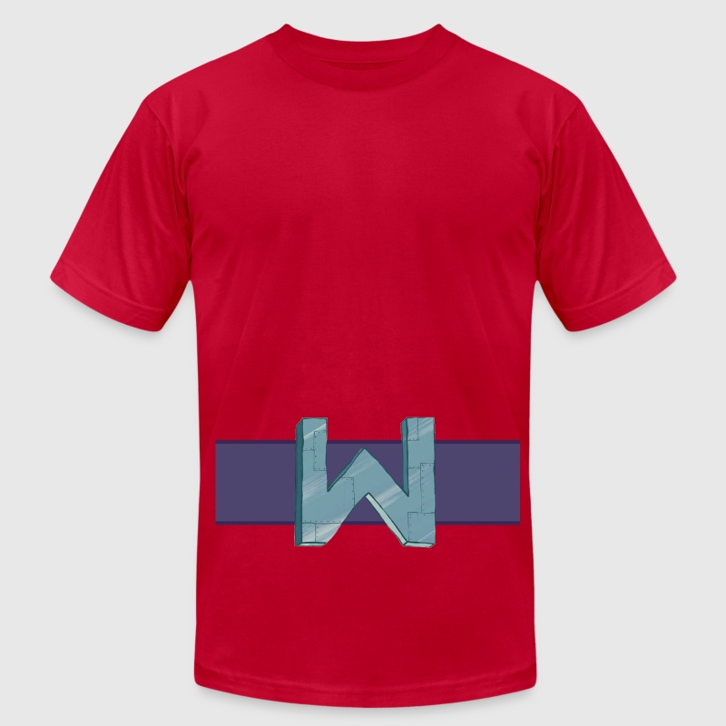 W for Wumbo - Men's Fine Jersey T-Shirt