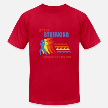 Forgetting Sarah Marshall Old School Frank Streaking - Men's  Jersey T-Shirt