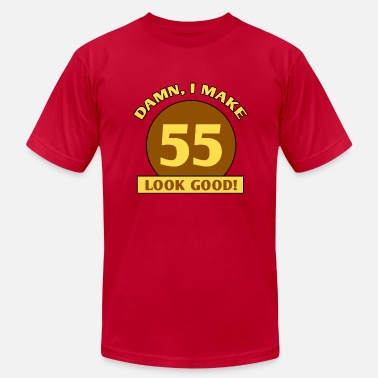 Ideas For 55th Birthday 55th Birthday Gag Gift - Men's  Jersey T-Shirt