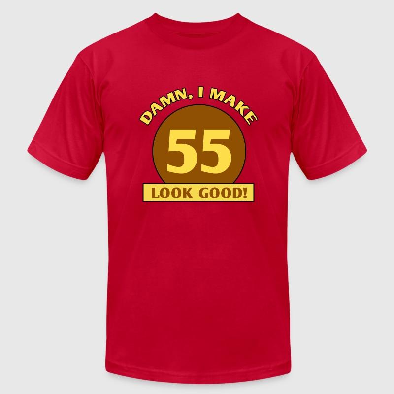 55th birthday gag gift by zennykenny spreadshirt 55th birthday gag gift mens fine jersey t shirt negle Choice Image