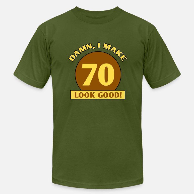 9af848365 70th Birthday Gag Gift Men's Jersey T-Shirt   Spreadshirt