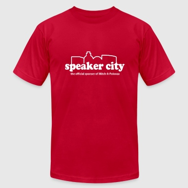 Old School Speaker City  - Men's Fine Jersey T-Shirt