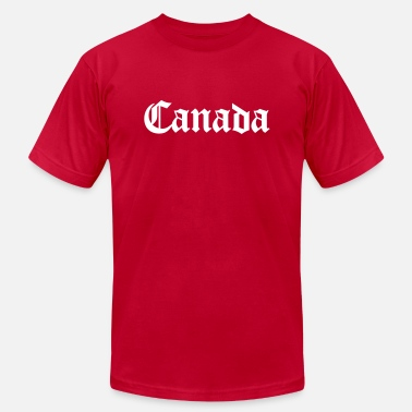 Canada-geography Canada - Men's  Jersey T-Shirt