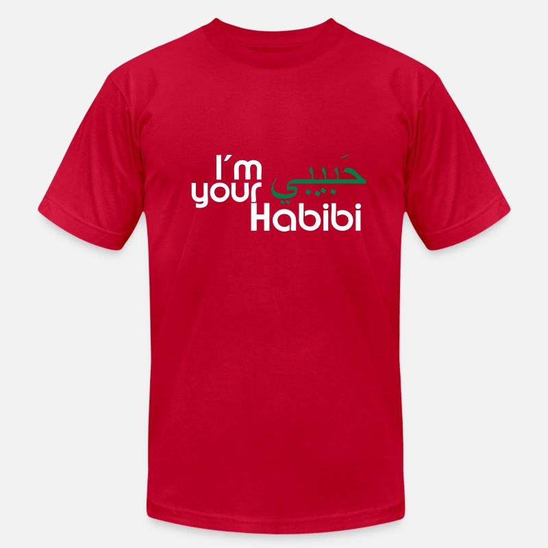 Arab T-Shirts - I'm Your Habibi - Men's Jersey T-Shirt red