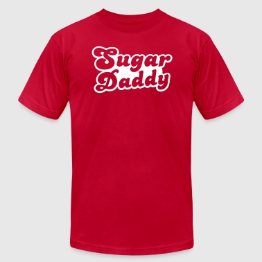Sugar Daddy in cute font - Men's Fine Jersey T-Shirt