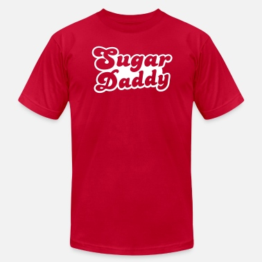 Sugar Daddy Sugar Daddy in cute font - Men's  Jersey T-Shirt