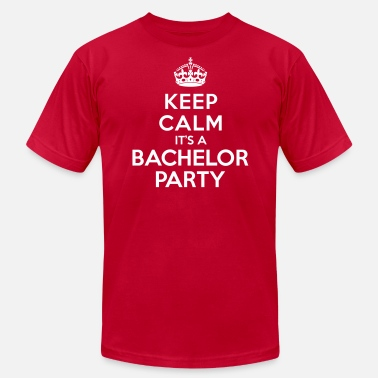 Keep Calm Bachelor Party Keep calm it's Bachelor Party - Men's Jersey T-Shirt