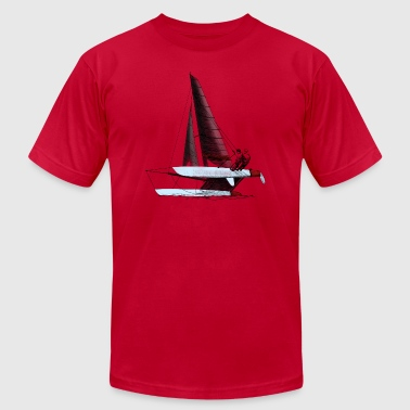 catamaran - Men's Fine Jersey T-Shirt