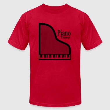 Piano Tuner - Men's Fine Jersey T-Shirt