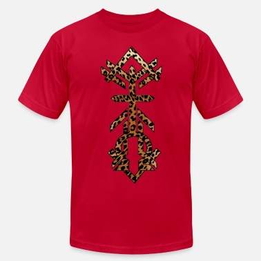 Alpha And Omega Christianity Alpha Omega Leopard Print - Men's  Jersey T-Shirt