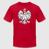 Polish Eagle Coat of Arms - Gold Accents - Men's Fine Jersey T-Shirt