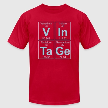 Indium V-In-Ta-Ge (vintage) - Full - Men's Fine Jersey T-Shirt