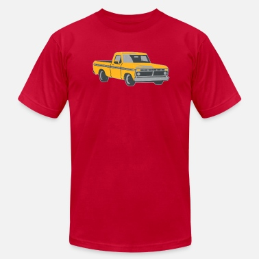 Old School Trucks pickup truck vintage-look - Men's  Jersey T-Shirt