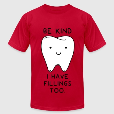 I have fillings too - Men's Fine Jersey T-Shirt