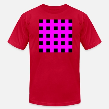 Emo Stripes Emo Squares - Men's  Jersey T-Shirt
