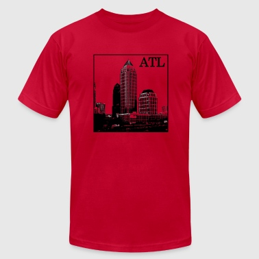 ATL (Midtown) - Men's Fine Jersey T-Shirt