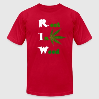 Rest in weed 1 - Men's Fine Jersey T-Shirt
