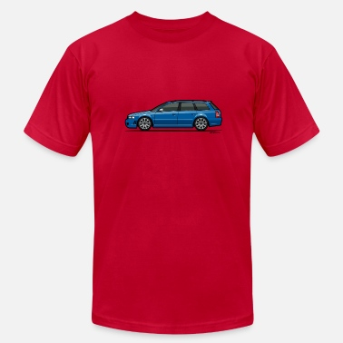 B5 A4 Audi RS4 B5 Nogaro Blue - Men's Fine Jersey T-Shirt