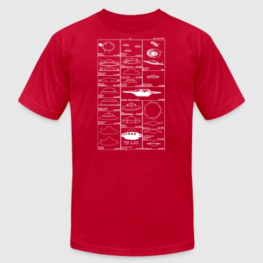 Flying saucers - Men's Fine Jersey T-Shirt