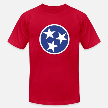 State Of Tennessee Flag Tennessee State Flag - Men's  Jersey T-Shirt