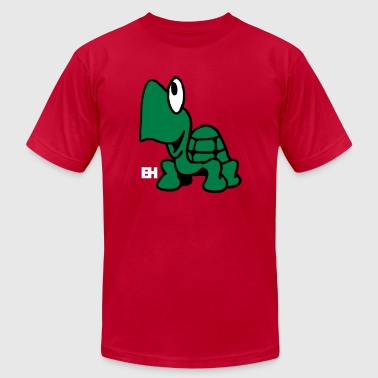Tortuga Turtle Turtle - Men's Fine Jersey T-Shirt