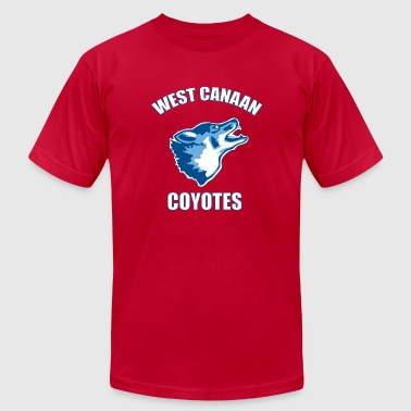 West Canaan Coyotes - Men's Fine Jersey T-Shirt