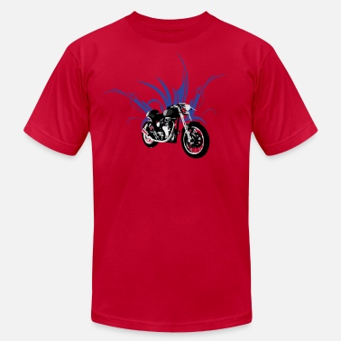 Cafe motorcycle cafe racer - Men's Jersey T-Shirt