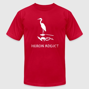 Heron Addict - Men's Fine Jersey T-Shirt