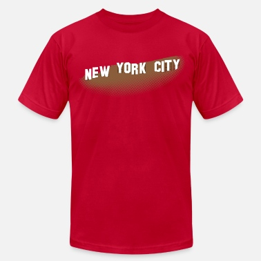 Hollywood Sign New York Hollywood Sign - Men's  Jersey T-Shirt