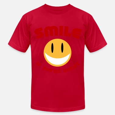 Horny-smiley Smile If You're Horny - Men's Fine Jersey T-Shirt