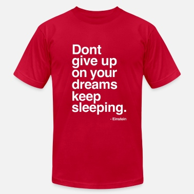 Live Unbound Keep Sleeping - Men's  Jersey T-Shirt