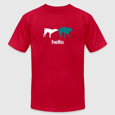 Sniff Hello - Men's Fine Jersey T-Shirt