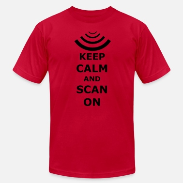 Ultrasound Keep Calm and Scan On - Men's  Jersey T-Shirt